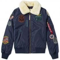 Alpha Industries Injector III Patch Shearling Bunda