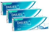 DAILIES AquaComfort Plus Toric 90 čoček