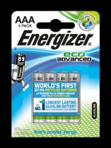 Energizer ECO Advanced AAA LR03 4 ks (blistr)