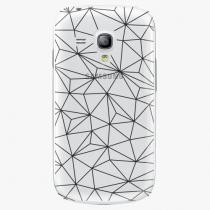 Samsung - Abstract Triangles 03 - black - Galaxy S3 Mini