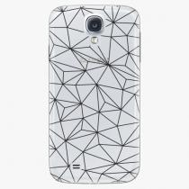 Samsung - Abstract Triangles 03 - black - Galaxy S4