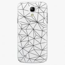 Samsung - Abstract Triangles 03 - black - Galaxy S4 Mini