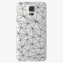 Samsung - Abstract Triangles 03 - black - Galaxy S5