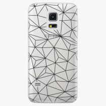 Samsung - Abstract Triangles 03 - black - Galaxy S5 Mini
