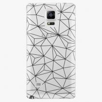 Samsung - Abstract Triangles 03 - black - Galaxy Note 4