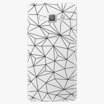 Samsung - Abstract Triangles 03 - black - Galaxy A3