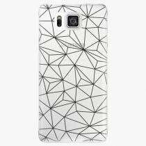 Samsung - Abstract Triangles 03 - black - Galaxy Alpha