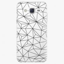 Samsung - Abstract Triangles 03 - black - Galaxy Core Prime