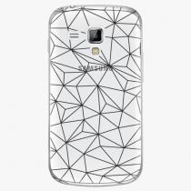 Samsung - Abstract Triangles 03 - black - Galaxy Trend Plus
