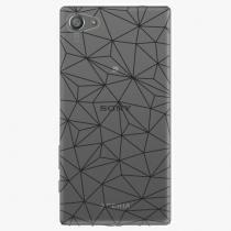 Sony - Abstract Triangles 03 - black - Xperia Z5 Compact