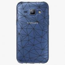 Samsung - Abstract Triangles 03 – black - Galaxy J1