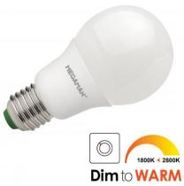 MEGAMAN Energy Saving Lamps 10,5W (60W) E27 teplá bílá DIM to WARM