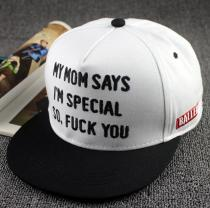 BALLER Rebel Snapback My Mom Says I`m Special