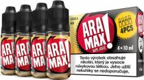 ARAMAX 4Pack Vanilla Max 4x10ml 12mg
