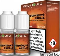 Ecoliquid Premium 2Pack Gingerbread tobacco 2x10ml 0mg Perníkový tabák