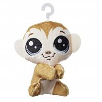 Hasbro Littlest Pet Shop plyšák s klipem - Clicks Monkeyford