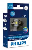 Philips LED 12V 1W 4000K Festoon T14,5x30