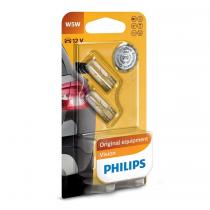 Philips 12V W5W sklo PH T10 2ks
