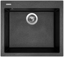 Sinks Cube 560 Metalblack 74