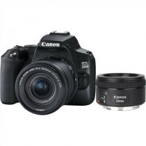 Canon EOS 250D + 18-55 IS STM + 50f/1.8 STM