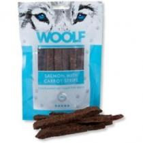 WOOLF Snack salmon with carrot strips 100g