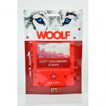 WOOLF Snack Soft Cranberry Strips 100g