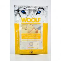 WOOLF Snack Soft Chicken with Cod Sandwich 100g