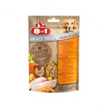 8 in1 Pet Products 8in1 FD Chicken/Carrots 50g