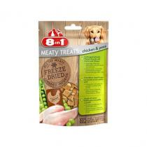 8 in1 Pet Products 8in1 FD Chicken/Peas 50g