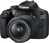 Canon EOS 2000D + 18-55mm IS II Value Up Kit + 55-250mm IS STM