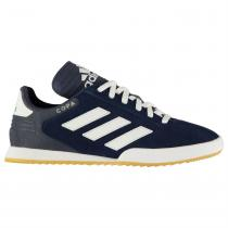 Adidas adidas Copa Super Suede Childrens Trainers, Navy/White, 31.5