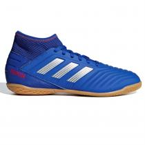 Adidas adidas Predator 19.3 Junior Indoor Football Trainers, BoldBlue/Silver, 34