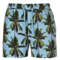 Pierre Cardin Pierre Cardin Tropical Swimshorts Mens, Light Blue, M