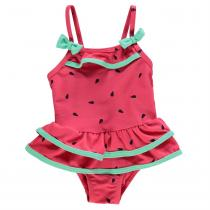 Crafted Swimsuit Infant Girls, Pink Watermelon, 62