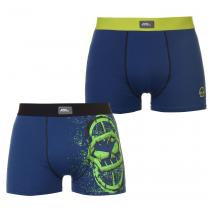 No Fear No Fear Grafik 2 Pack Trunks Mens