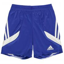 Adidas adidas 3 Stripe Sereno Shorts Junior Boys, Cobalt/White, 128