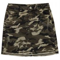 Firetrap Firetrap Camo Stretch Mini Skirt Junior Girls, Camo, 164
