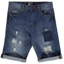 Soulcal SoulCal Patch Shorts Junior Boys, Mid Blue, 128