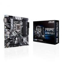 Asus 404665 - Asus ASUS PRIME Z370M-PLUS II Intel LGA-1151 mATX motherboard with LED lighting, DDR4 4000MHz, Dual M.2 - 90MB0ZR0-M0EAY0