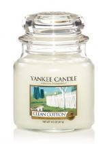 Yankee Candle YANKEE CANDLE vonná svíce Clean cotton 411g