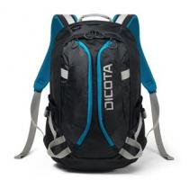 "Dicota 850407 - Dicota Backpack Active 14"" - 15.6"" black/blue - D31047"