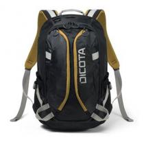 "Dicota Dicota Backpack Active 14"" - 15.6"" black / yellow (D31048)"