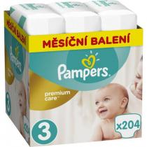 Pampers Pampers Pleny Premium Care 3 (Midi) - 6-10 kg, 204 ks