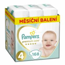Pampers Pampers Pleny Premium Care 4 (Maxi) - 9-14 kg, 168 ks