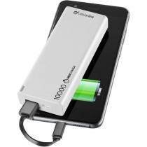 CellularLine Freepower Slim 10000mAh (FREEPSLIM10000W) bílá