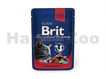 Brit BRIT Premium Cat kapsa with Beef Stew & Peas 100 g