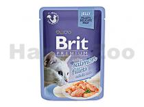 Brit Brit Premium Cat D Fillets in Jelly with Salmon 85g