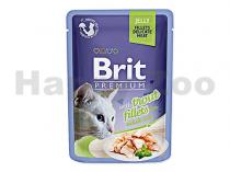 Brit Brit Premium Cat kaps. Delicate Fillets in Jelly with Trout 85 g