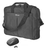 Trust set TRUST Primo 16 Bag with wireless mouse