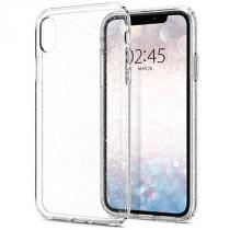 Spigen Pouzdro Spigen Liquid iPhone Xr crystal Čirá